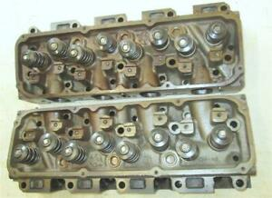 Original Ford 351 Cleveland Cylinder Heads Closed Chamber 4 Barrel D0ae n Fresh
