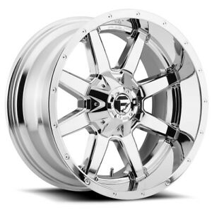 Fuel D536 Maverick 17x9 8x6 5 1mm Chrome Wheel Rim 17 Inch