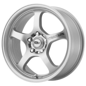 4 Motegi Mr131 17x8 5x112 40mm Silver Wheels Rims 17 Inch