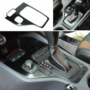 Fit For Ford Ranger 2015 2020 Black Steel Central Console Gear Shift Panel Trim