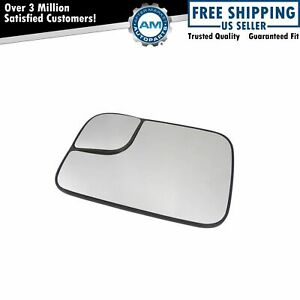 Towing Mirror Glass Heated Driver Side Left Lh For 94 10 Dodge Ram Pickup New