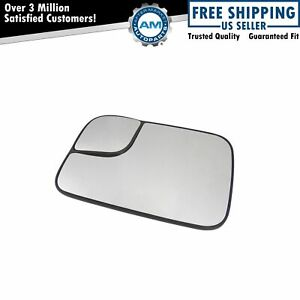 Towing Mirror Glass Driver Side Left Lh For 94 10 Dodge Ram Pickup Truck New