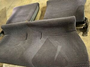 Eg6 Jdm Rear Gathers Seats Seat 92 95 Sir 2 Civic Purple Tweed With Plastic
