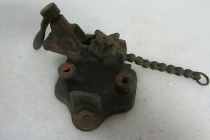 Nye Chain Vise No 61 Bench Vise 1 8 To 2 1 2 Pipe