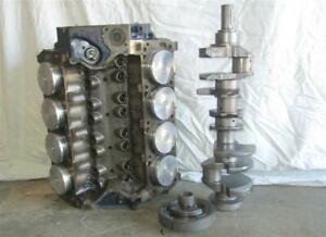 Ford 351 Cleveland Short Block Fresh 030 Over Balanced Forged Pistons 351c Wow