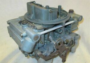 Holley Carb List 3367 1966 Corvette 327 300hp 350hp L79 Oem Carburetor Dated 5a4