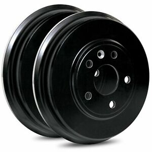 For 1964 1968 Plymouth Barracuda Valiant Front R1 Concepts Brake Drums pair
