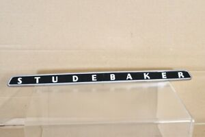 Studebaker 1953 1954 Champion Coupe Hardtop Sedan Trunk Lid Handle Name Plate Nx