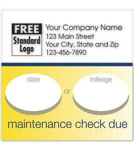 Static Cling Service Label W Gold Bottom Border 2 5 X 2 5 Nebs Deluxe No 58165