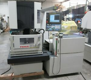 Used 2006 Fanuc Robocut Wire Edm System 0ic