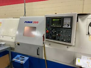 Used 2000 Daewoo Doosan Puma 200lc Cnc Lathe Turning Center