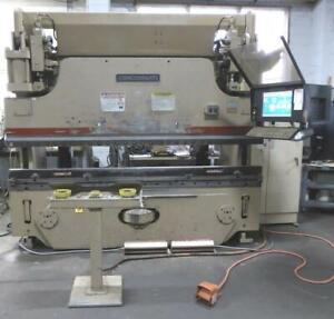 Used Cincinnati 135 Ton X 10 Cnc Press Brake 6 Axis Backgage Autoform