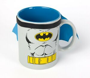 DC Comics BATMAN Coffee Mug Cup With Cape!!