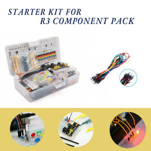 Electronics Component Power Supply Basic Starter Kit 830 Tie points Breadboard
