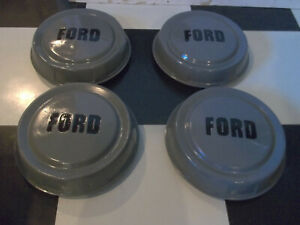 Vintage 1957 1958 1959 1960 Ford Bottle Cap Hubcaps 1 2 Ton Dog Dish F100