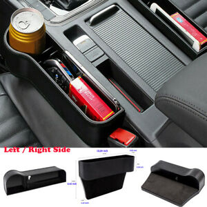 Car Seat Crevice Box Storage Cup Holder Organizer Auto Gap Pocket Stowing L r