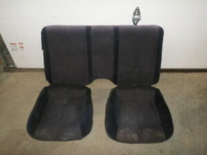 85 Camaro Black Rear Seats 86 Tpi Z28 Iroc Rs Used