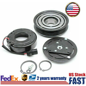 A c Air Compressor Clutch Kit Pulley Coil For Nissan Altima 4 Cyl 2 5l 2007 2012