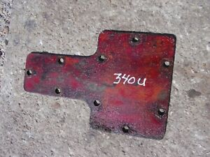 International Farmall 340 Utility Ih Tractor Transmission Housing Cover Panel