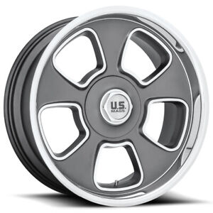 Staggered us Mags U125 Boulevard 20x8 20x9 5 5x5 5x5 5 1 Gunmetal Wheels Rims