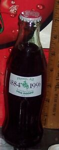 1997 COCA COLA CELEBRATES 150 YEARS GREATER KANSAS CITY 8OZ  COCA COLA BOTTLE