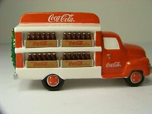 Dept 56 Snow Village ~ Coca Cola Delivery Truck ~ Mint In Box 54798