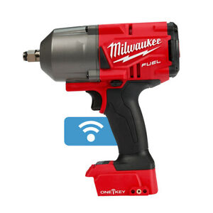 Milwaukee 2863 20 M18 Fuel High Torque Impact Wrench 1 2 Friction Ring Bare