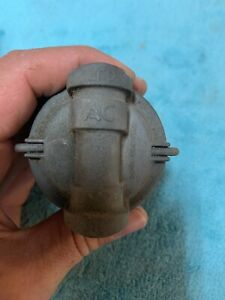Vintage Original 50 S 60 S Chevy Gm Other Ac 854324 Gf124 Glass Bowl Fuel Filter