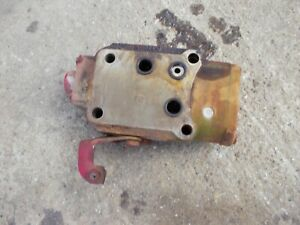 International Farmall 340 Utility Tractor Ih Center Hydraulic Control Valve