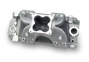 Holley Efi Intake Manifold 4500 Flange Tall Deck Block For Chevy Big Block V8