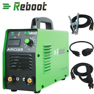 Used Arc Welder Dual Volt 110v 220v Stick 120a Mma Inverter Welding Machine Usa
