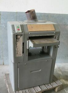 Rockwell Delta 13 x 6 Wood Planer Single Phase 220 Volt Nice Made In Usa