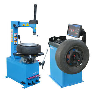 Wheel Balancer Tire Balance Machine And Tire Changer Tc112 Wb209