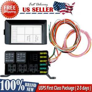 For Standalone Wiring Harness Ls1 6 0 5 3 4 8 Swap Relay fuse Box Block