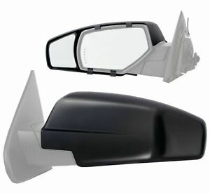 Clip on Towing Mirror Extension Pair For 2015 Chevy Silverado Gmc Sierra 1500