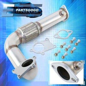 For 92 00 Civic 94 01 Integra B16 B18 D16 Stainless Steel T3t4 Turbo Down Pipe