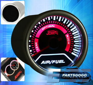 Universal Jdm Sport Motor Air fuel Gauges Led Display Indicator Lean Rich Engine