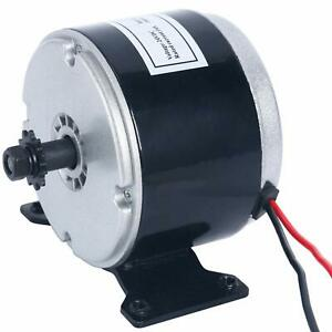 24v 250w Electric Motor Brushed 2750rpm For E Bike Scooter Go Kart Speed Control