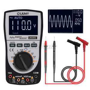 Liumy Lm2001 Lcd Intelligent Digital Oscilloscope Multimeter 200ksps Dc ac