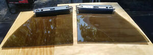 T Top 1977 1978 Thunderbird Cougar Tinted Glass Pair L R Good Condition