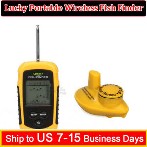 Lucky 40M Depth Wireless Sonar Fish Finder Fishing Camera Sea Lake Ocean Alarm