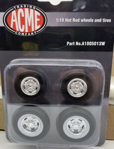 Acme 1 18 Wheels And Tires Hot Rod Style