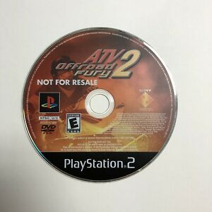 ATV Offroad Fury 2 (Sony PlayStation 2  2002) Disc Only Tested