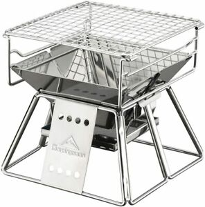 new camping Moon Bbq Stove Fire Pit With Storage Bag k