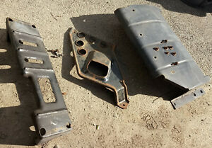 1993 1998 Jeep Zj Grand Cherokee All 3 Skid Plates Front Transfer Case Gas Tank