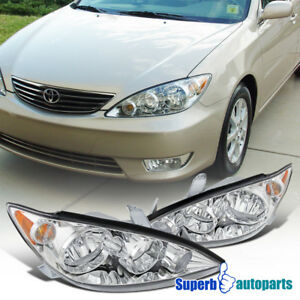 For 2005 2006 Toyota Camry Replacement Headlights Driving Lamps