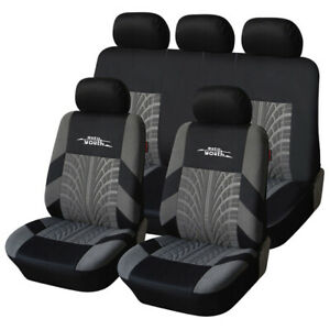Complete Set Of Car Seat Cover Car Seat Safety Protection Decoration 4 Colors