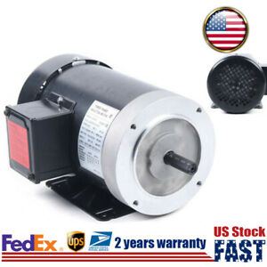 3 phase Electric Motor 2hp 3450 Rpm For Oilfield Agriculture Air Compressor Us