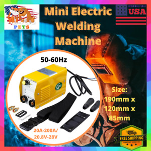 Portable Mini Small Electric Welding Machine 220v 200a Inverter Arc Mma Stick Us