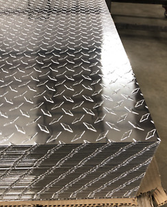 4 X 8 Aluminum Diamond Plate Sheet Starbrite 025 Thick